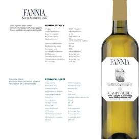 FANNIA, Molise Falanghina DOC, 75cl, 2015